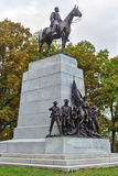 Memorial Monument, Gettysburg, PA Royalty Free Stock Photos