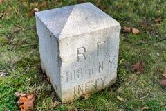 Memorial Monument, Gettysburg, PA Royalty Free Stock Photo