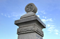 Memorial Monument, Gettysburg, PA Stock Photo