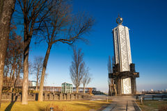 Memorial monument in Kiev, Ukraine Stock Photography