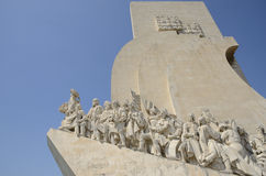 Memorial Monument to the Discoveries Royalty Free Stock Images