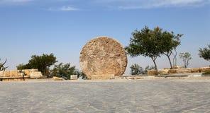 Memorial of Moses, Mount Nebo, Jordan Stock Image