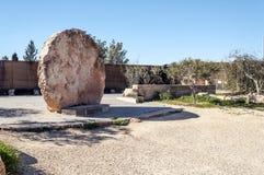 Memorial of Moses. Mount Nebo, Jordan Stock Images