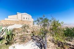 The Memorial of Moses at Mount Nebo, Jordan. The Memorial church of Moses at Mount Nebo, Jordan Stock Image