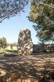 Memorial of Moses. Mount Nebo, Jordan. It´s a vertical picture Royalty Free Stock Images