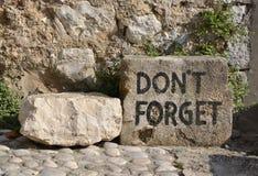 Memorial - Mostar Fotos de Stock Royalty Free