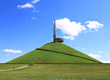Memorial Mound of Glory in Belarus Royalty Free Stock Image