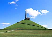 Memorial Mound of Glory in Belarus Royalty Free Stock Images