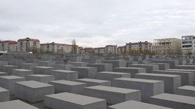 Memorial for the Murdered Jews of Europe, Berlin stock image