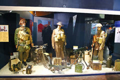 Memorial museum of the Battle of Normandy. Stock Image