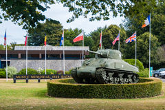 Memorial Museum of the Battle of Normandy in Bayeux Stock Images