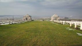 Memorial nacional australiano em Villiers-Bretennoux, França Imagens de Stock Royalty Free