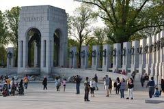 Memorial nacional da segunda guerra mundial em Washington, C.C. Imagem de Stock