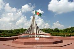 Memorial nacional dos mártir de Savar, Savar Fotografia de Stock