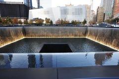 Memorial nacional setembro de 11 Fotografia de Stock