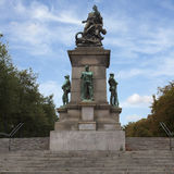 Memorial in Nantes. A memorial statue in nantes France for all the sons of the Loire valley region who gave their lives in the two conflicts Royalty Free Stock Photos