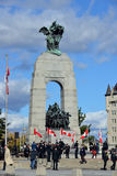 Memorial for Nathan Cirillo Royalty Free Stock Photos