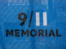 Memorial New York. The 9/11 Memorial site at Ground Zero, Lower Manhattan in New York City Stock Images