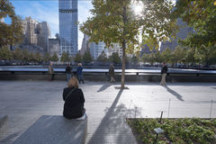 9/11 Memorial New York City Stock Photo