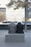 9-11 Memorial New York City Royalty Free Stock Photo