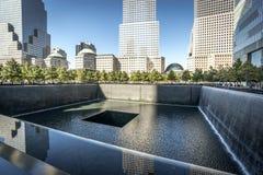 911 Memorial. In New York City, USA Stock Photos