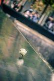 9 - 11 memorial in New York Stock Images