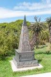Memorial no jardim da reserva de Donkin da relembrança fotos de stock royalty free