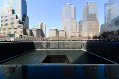 9 /11 Memorial Park Images libres de droits