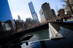 9 /11 Memorial Park Fotografia Stock