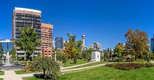Memorial Park in Calgary Stock Image