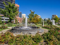 Memorial Park en Calgary foto de archivo libre de regalías