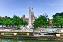 Memorial Park - försyn, Rhode Island arkivfoton