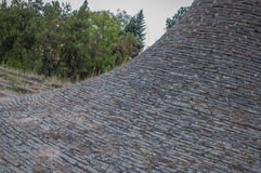 Memorial Park Hisar dans la texture de pierre de Leskovac Photos libres de droits