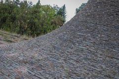 Memorial Park Hisar w Leskovac kamienia teksturze Zdjęcia Royalty Free