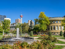 Memorial Park i Calgary Arkivbild