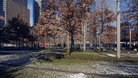 911 Memorial Park New York Royalty Free Stock Photos