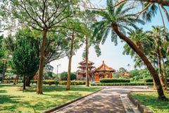 228 Memorial Park w Taipei pokój, Tajwan Zdjęcie Royalty Free
