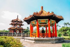 228 Memorial Park w Taipei pokój, Tajwan Fotografia Royalty Free