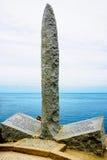 The memorial in Pointe du Hoc Stock Image
