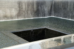 Memorial Pool, National September 11 Memorial, New York Royalty Free Stock Photos