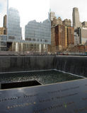 Memorial Pool, National September 11 Memorial, New York Royalty Free Stock Photography