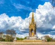 Memorial real de Albert Fotos de Stock Royalty Free