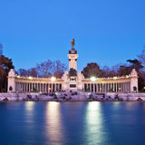 Memorial in Retiro city park, Madrid Royalty Free Stock Photo