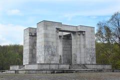 Memorial of revolt Stock Image