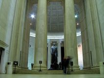 Thomas Jefferson Memorial interno imagem de stock royalty free