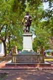 Memorial in Savannah for General Oglethorpe Stock Photography