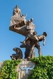 Memorial sculpture in Turkey. Memorial sculpture of the Gallipoli Campaign on April 21, 2014 in Eceabat, Turkey. The Gallipoli Peninsula is the site of extensive Royalty Free Stock Photos