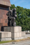 Memorial of the second world war Royalty Free Stock Photography