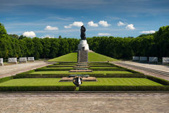 Memorial of the second world war Royalty Free Stock Photos