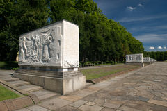 Memorial of the second world war Stock Photography